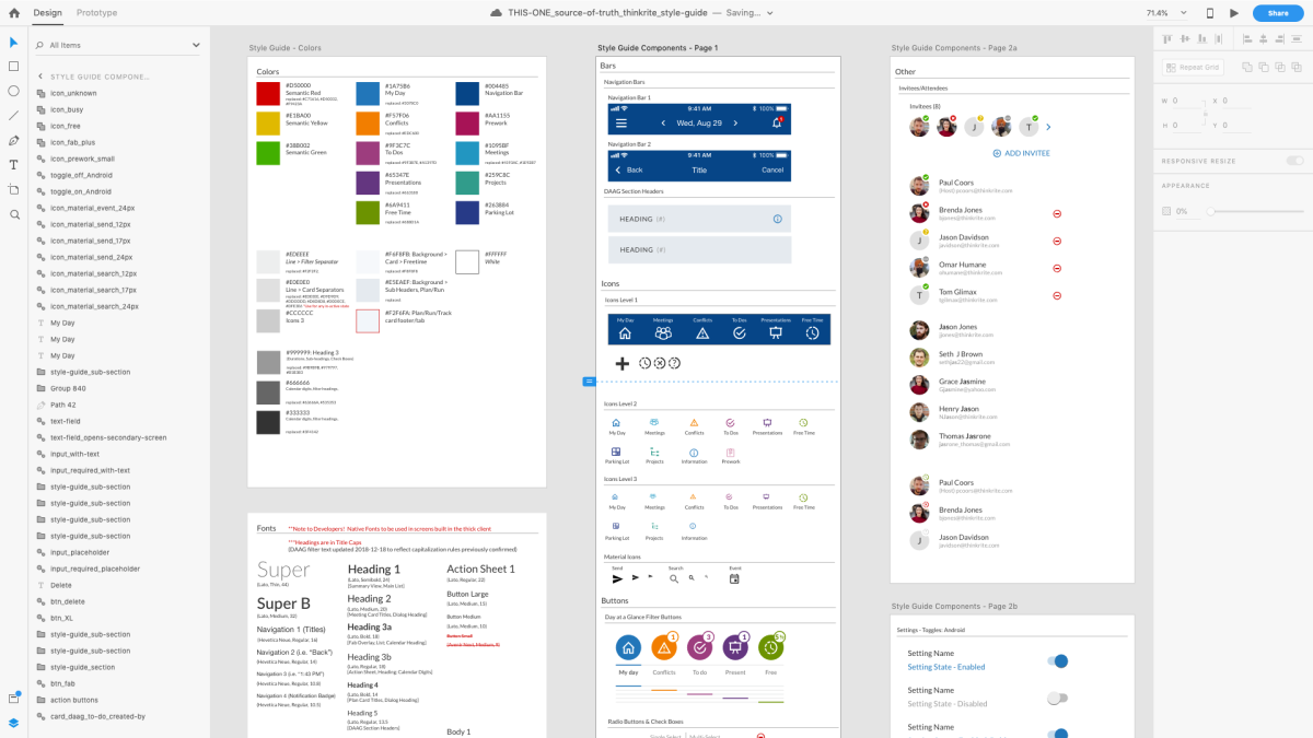 Style Guide Design Systems Jason M James